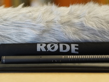 Rent: Rode NTG2 Boom Pole Kit