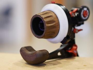 Rent: Vocas Wood-handle Follow Focus