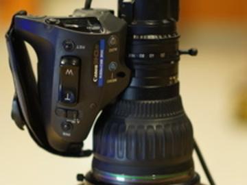 "Rent: Canon HJ22ex7.6B-IRSE-A eHDxs 22x 2/3"" ENG Lens"