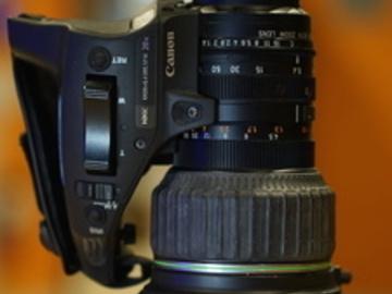 """Rent: Canon KH20x 6.4 ENG 1/2"""" Lens"""