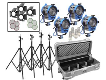 Rent: Arri 650W Fresnel Compact 4-Light Kit