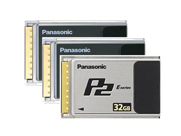 Rent: 3x Panasonic P2 Card Bundle