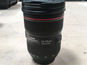 Rent: Canon EF 24-70mm f/2.8L II-EF Mount L-Series Lens