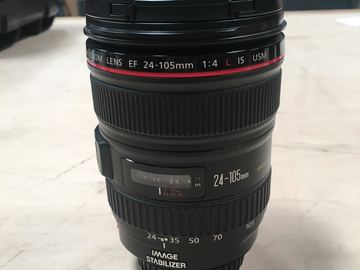 Rent: Canon EF 24-105mm f/4L IS-EF Mount L-Series Lens