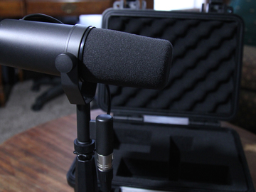 Rent: Shure SM7B Dynamic Microphone (Studio Voiceover)