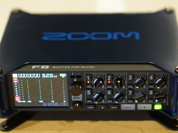 Rent: Zoom F8 MultiTrack Field Recorder