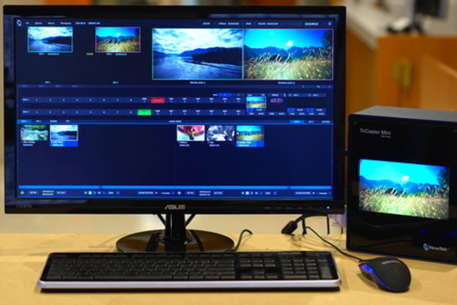 TriCaster Mini Live Production System (HD-SDI version)