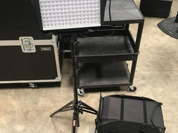 Rent: Litepanels Astra 1x1-Bi-Color LED Panel- (Wall Power Only)