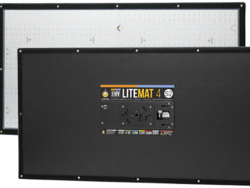 Rent: (Two) S2 Litemat 4's - with 2 C Stands!