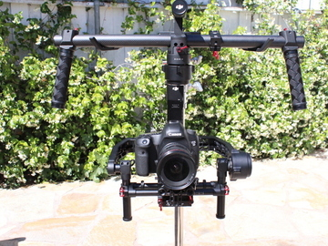 Rent: DJI Ronin FULLY EXTENDED, Ready Rig GS, Wireless Video