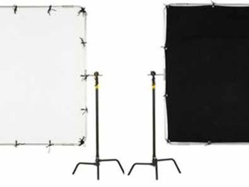 Rent: 6x6 Ultra bounce or 1/4 Grid Cloth