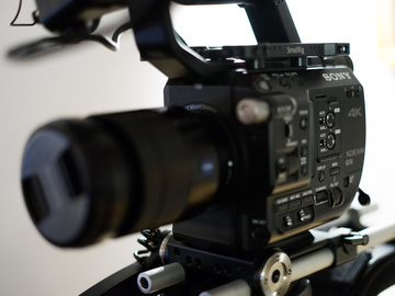 Rent: Sony FS5 + 24-70 F/4 (RAW UPGRADE, READY TO SHOOT)