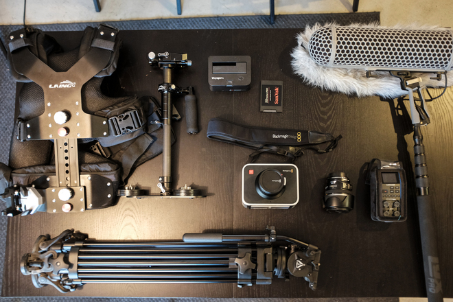 Blackmagic 2.5k INDIE FILM KIT