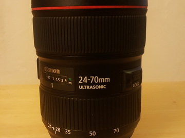Rent: Canon 24-70mm f/2.8L, USM, II