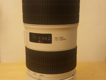 Rent: Canon 70-200mm f/2.8L, IS, USM, II
