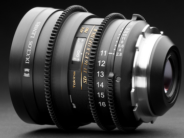 Rent: Duclos 11-16mm Wide Angle Zoom T2.8 - PL  Mount