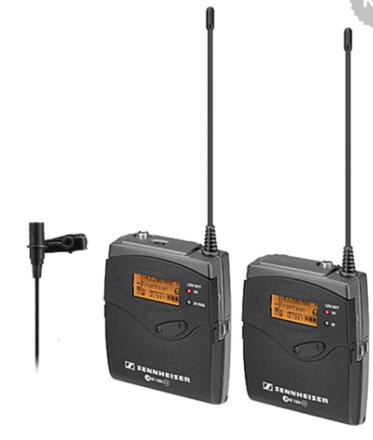 2 Sets of Sennheiser G3 Wireless Transmitter and Receiver