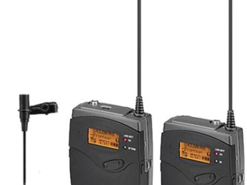 Rent: Sennheiser G3 Wireless Transmitter and Receiver X2