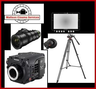 Complete Varicam LT package: Varicam LT, Fujinon Lens