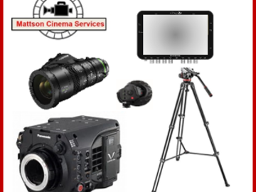 Rent: Complete production package: Varicam LT, Fujinon Lens