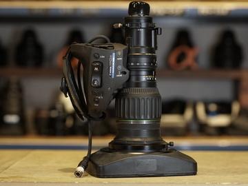 """Rent: Canon HJ11ex4.7B-IASE eHDxs 11x 2/3"""" HDTV ENG Lens"""