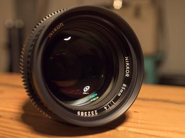 Rent: Nikon AI-s 1.4 85mm – Standard Duclos Cine Mod