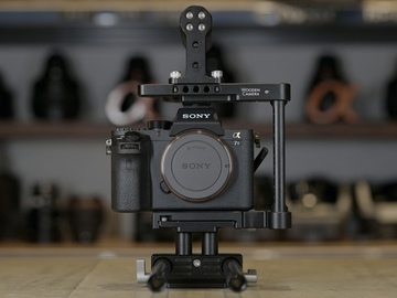 Sony A7SM2 with Wooden Camera Cage Kit