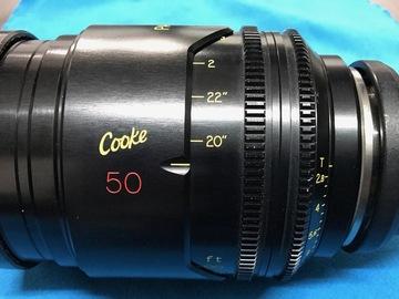 Rent: Cooke Panchro 50mm 2.8 - Mini S4