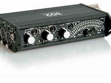 Rent: Sound Devices 302 Portable Field Mixer