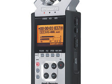 Rent: Zoom H4N Handy Mobile 4-Track Recorder w/ 32gig SD card