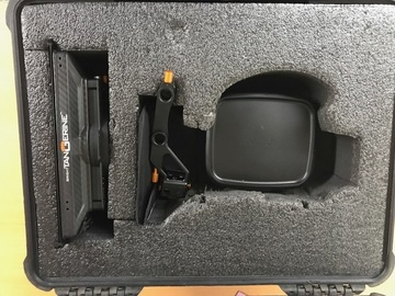 Rent: Bright Tangerine Misfit 15mm Swing Away Mattebox w/ 2 Stages