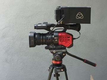 Rent: 4K Panasonic AG DVX 200 + Atamos Shogun Flame + Tripod
