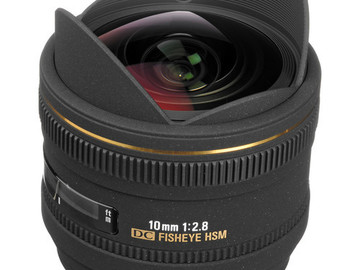 Rent: Sigma 10mm f/2.8 Fisheye Lens for Canon EF Mount