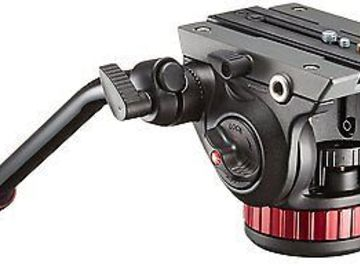 Rent: Manfrotto 055XPROB Tripod with MVH502AH Head