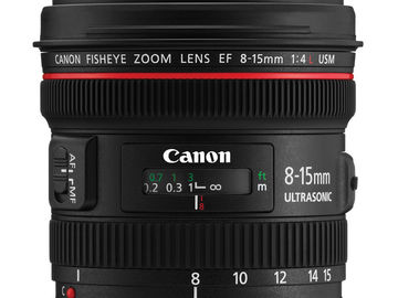 Rent: Canon 8-15
