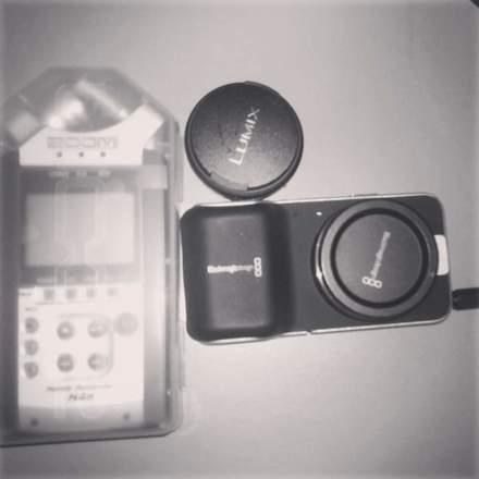 Black Magic Pocket cinema camera w/ lens