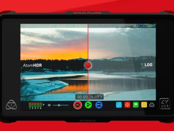 """Rent: Atomos Ninja Flame 7"""" 4K HDMI Monitor & Recorder"""