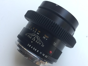 Rent: Leica - R 60mm (EF Mount) MACRO Prime Lens