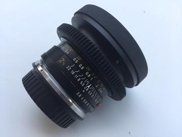 Rent: 24mm Leica-R (T2.8) Vintage Prime.