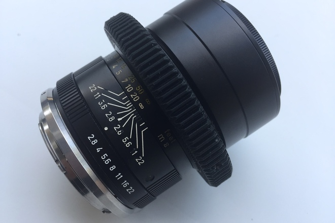 90mm Leica - R Vintage Cinemoded (EF Mount)