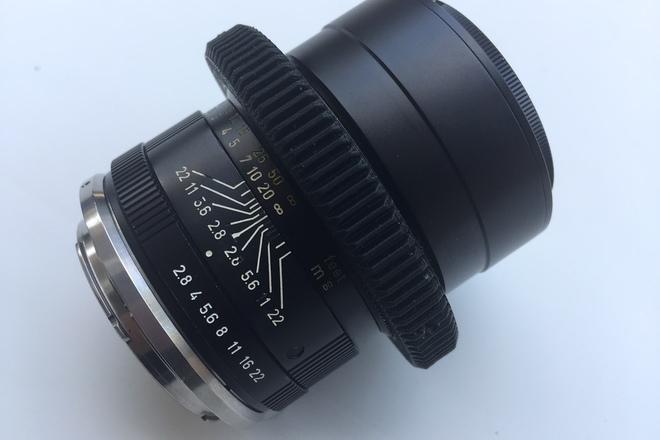 90mm Leica - R Vintage Cinemoded (EF Mount)