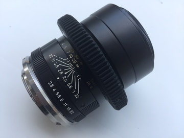 Rent: 90mm Leica - R Vintage Cinemoded (EF Mount)