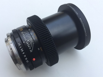 Rent: Vintage Leica-R 135mm Telephoto EF mount