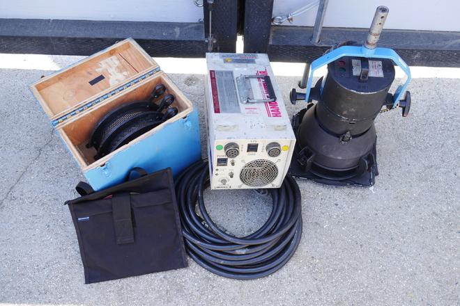 Strand 1.2K (1200w) HMI Par w/ Electronic Ballast
