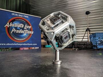 Rent: Selens Cube-Type 360 Spherical VR Rig with 6 GoPro Hero 4