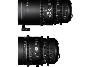 Rent: Sigma Cine Zooms - Sony E-Mounts