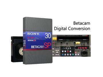 Rent: Sony Betacam Transfer/ Digital Conversion Service