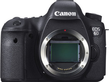 Rent: Canon 6D + Battery Grip + 2 Additional Batteries (4 Total)