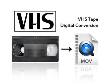 Rent: VHS Tape Transfer Conversion Service