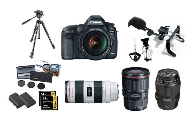 Canon 5d mark3 production kit